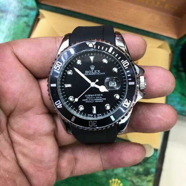 Jam tangan pria rolex submariner kw super