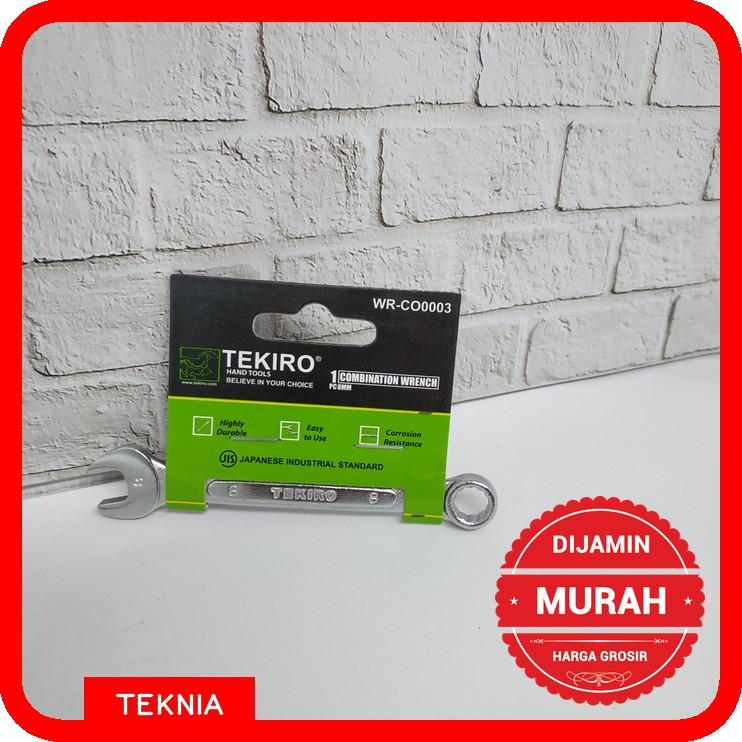 Kunci Ring Pas Tekiro 8mm / Ring Pas Tekiro