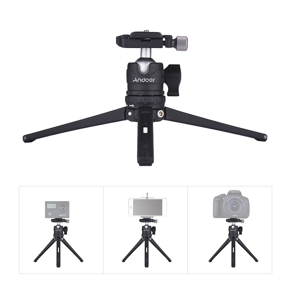 Foldable Tabletop Mini Travel Camera Tripod for Canon Nikon Digital Camera