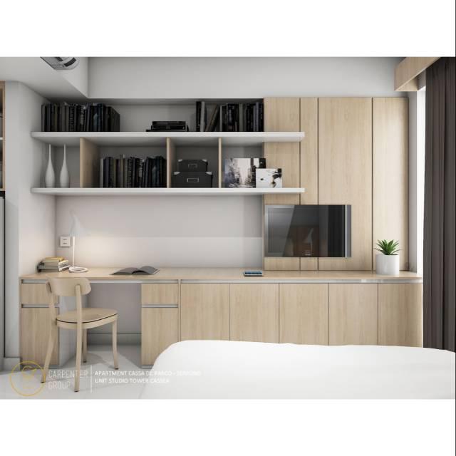 Kitchen Set Bedroom Set Custom Furniture Apartment Interior Design Shopee Indonesia