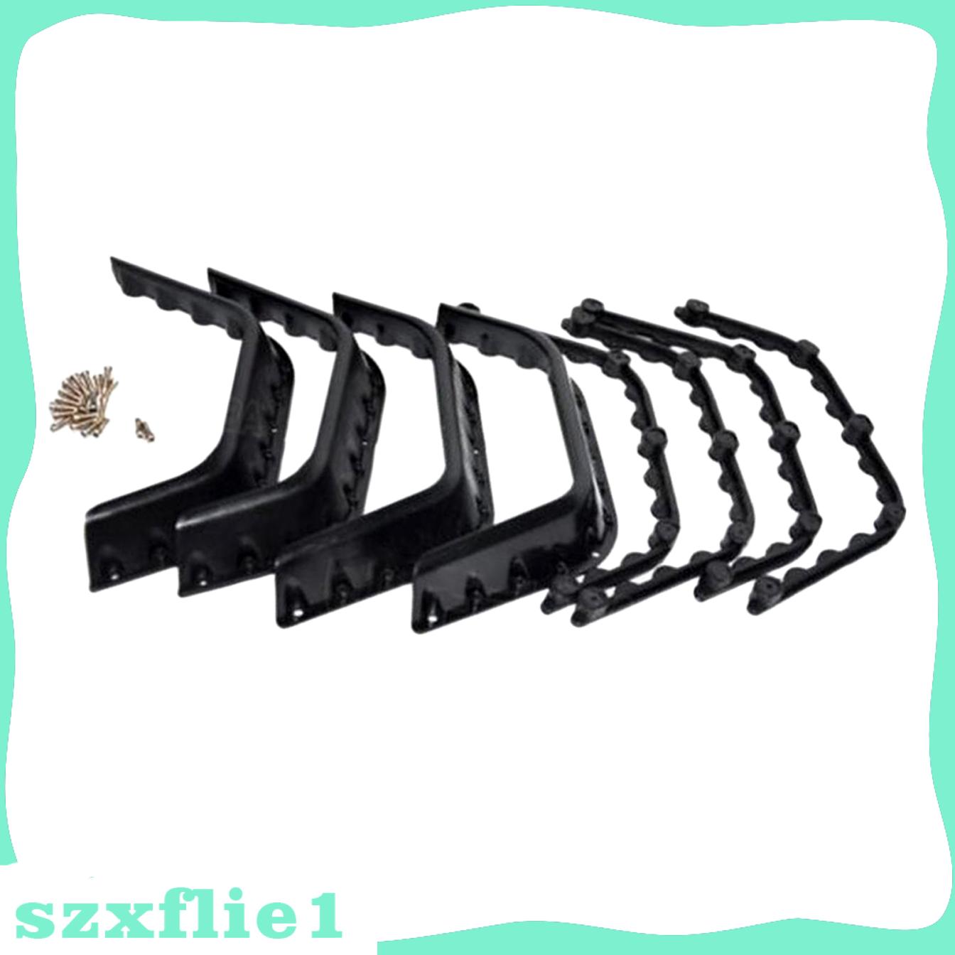 Suku Cadang Fender Flares Mobil Rc 1 / 10 Warna Hitam