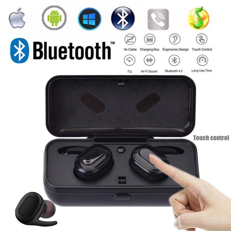 TWS V5 0 Earphone Mini Wireless Bluetooth Stereo IPX8 Anti Air