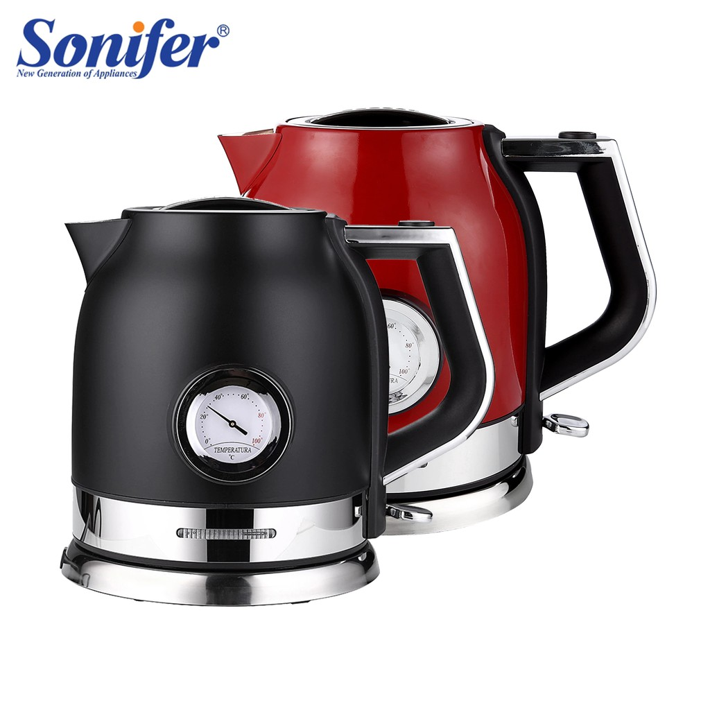High quality... 1.8l Electric Kettle Stainless Steel Kitchen Smart Whistle Kettle Samovar Tea pot
