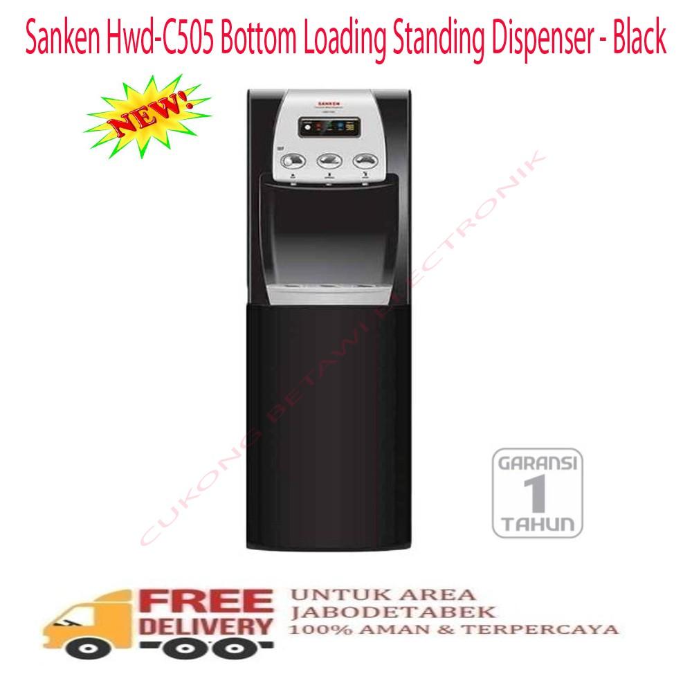 Sharp Water Dispenser Bottom Loading Galon Bawah Swd 72ehl Bk Khusus T102ed Wh Putih Top Tv Lc24le175 Jabodetabek Source Sanken Hwd C106 Free
