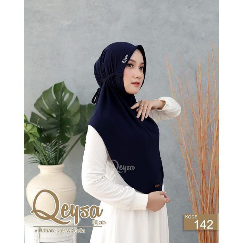(Qeysa hijab) khusus navy