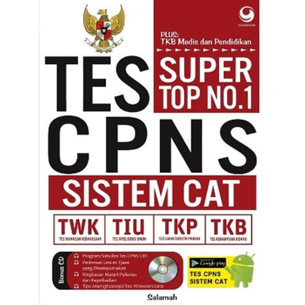Modul Resmi Skd Skb Cat Asn Cpns 2018 2019 Shopee Indonesia