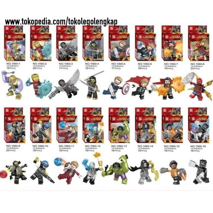 Best Seller Avengers Minifigure Super Heroes Lego Infinity War Marvel Shopee Indonesia