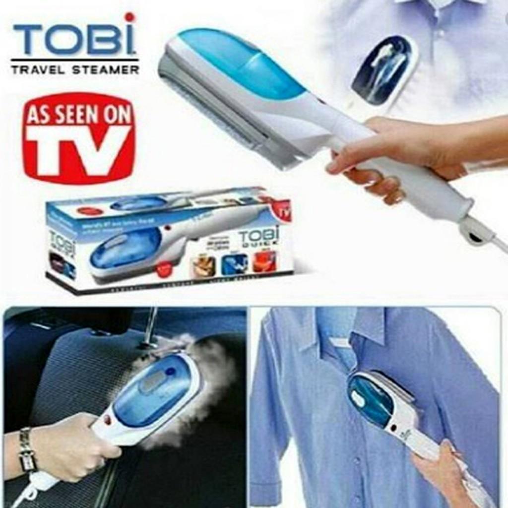 Setrika Uap Praktis Portable TOBI | Teknologi Strika ...