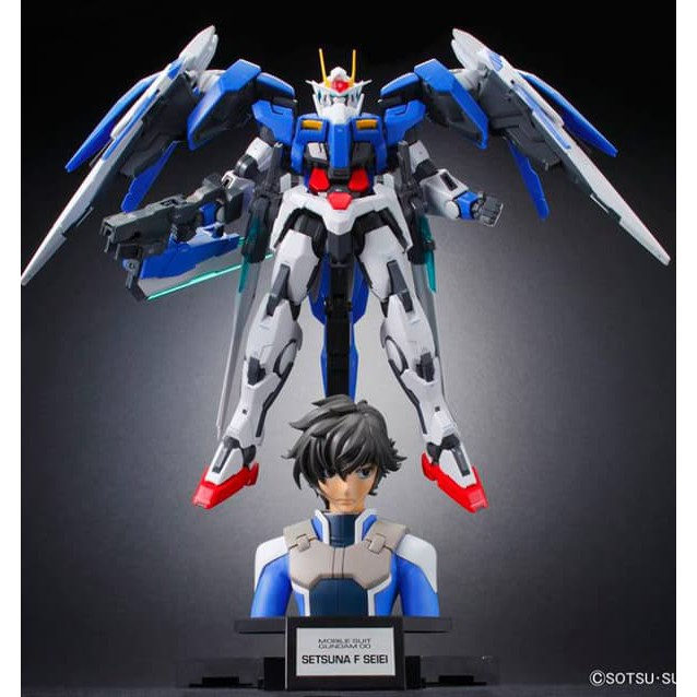 Bandai Figure Rise Bust Setsuna F Seiei Gundam 00 Series Shopee Indonesia