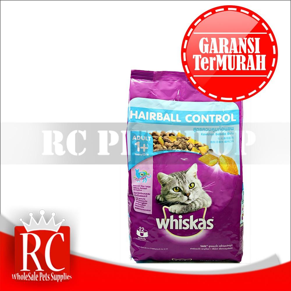 Makanan Kucing Whiskas Hairball 450 Gr Daftar Harga Terbaru Dan Dry 12kg Kering Rasa Grilled Saba 450gr Control Chicken Tuna Shopee Indonesia