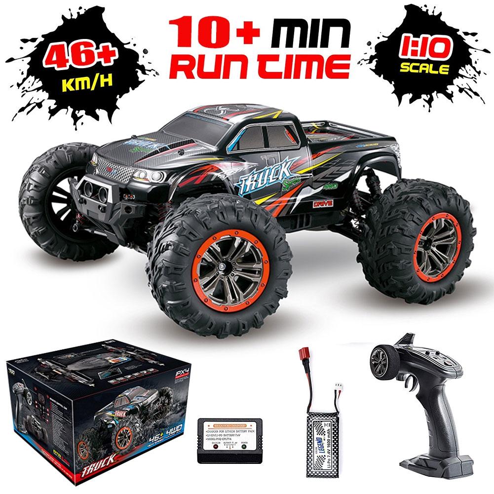 4X4 Off Road >> Mainan Rc Mobil Truk Monster 4x4 Off Road Skala 1 10 Untuk Anak Laki Laki
