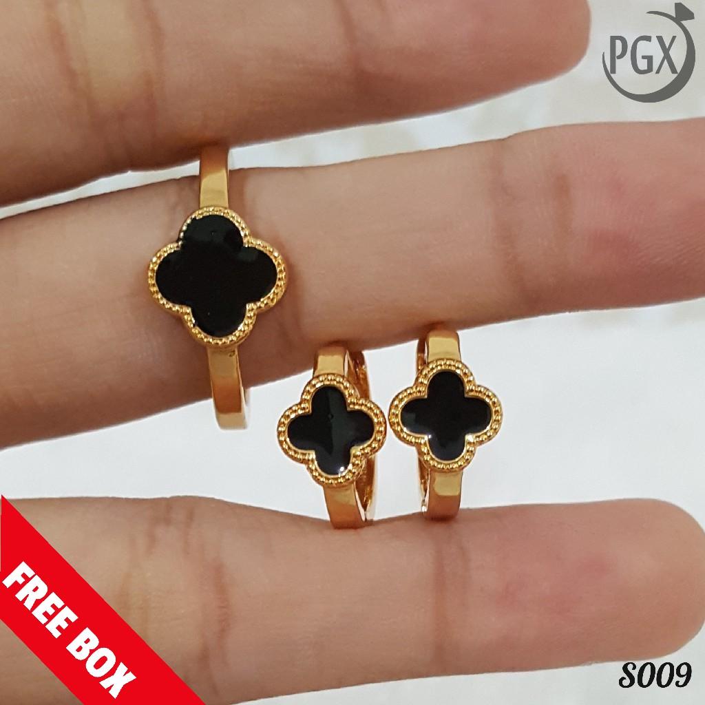 Set Perhiasan Xuping Lapis Emas Terbaru - S009 | Shopee ...