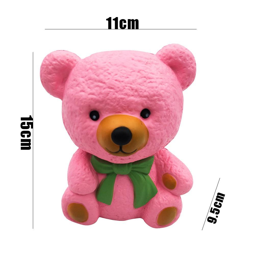 Kartun Lucu Beruang Licin Lambat Naik Cream Beraroma Hari Valentine Hadiah Mainan