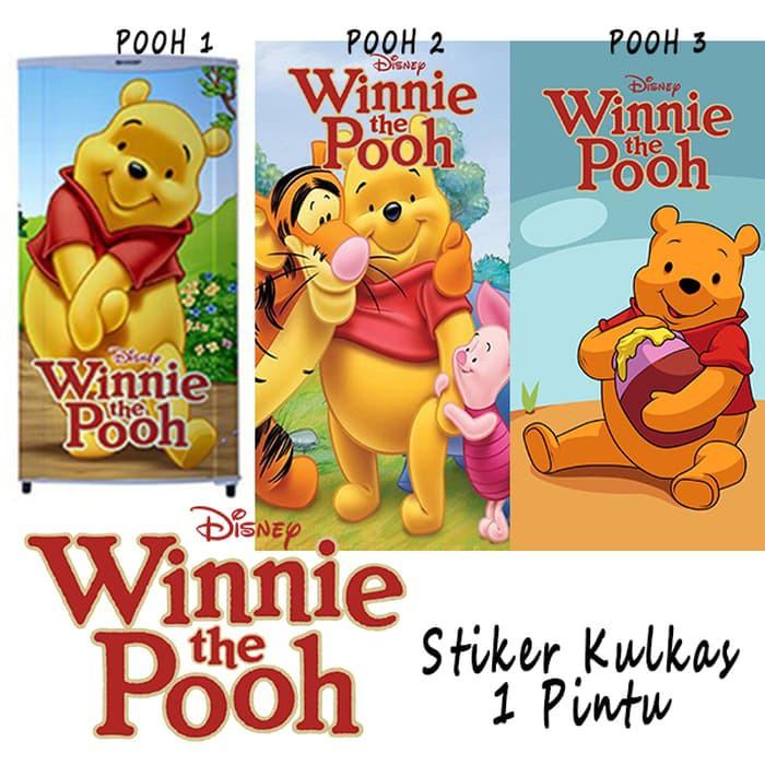 Stiker Kulkas Winnie The Pooh Lucu Vess246w Shopee Indonesia