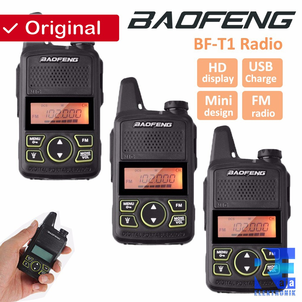 Pofung Taffware Bft1 Walkie Talkie Single Band 20ch Uhf Ht Made By Mini Uv 3r Handy Talky Baofeng Dual Uv3r Vhf Bf T1 Shopee Indonesia