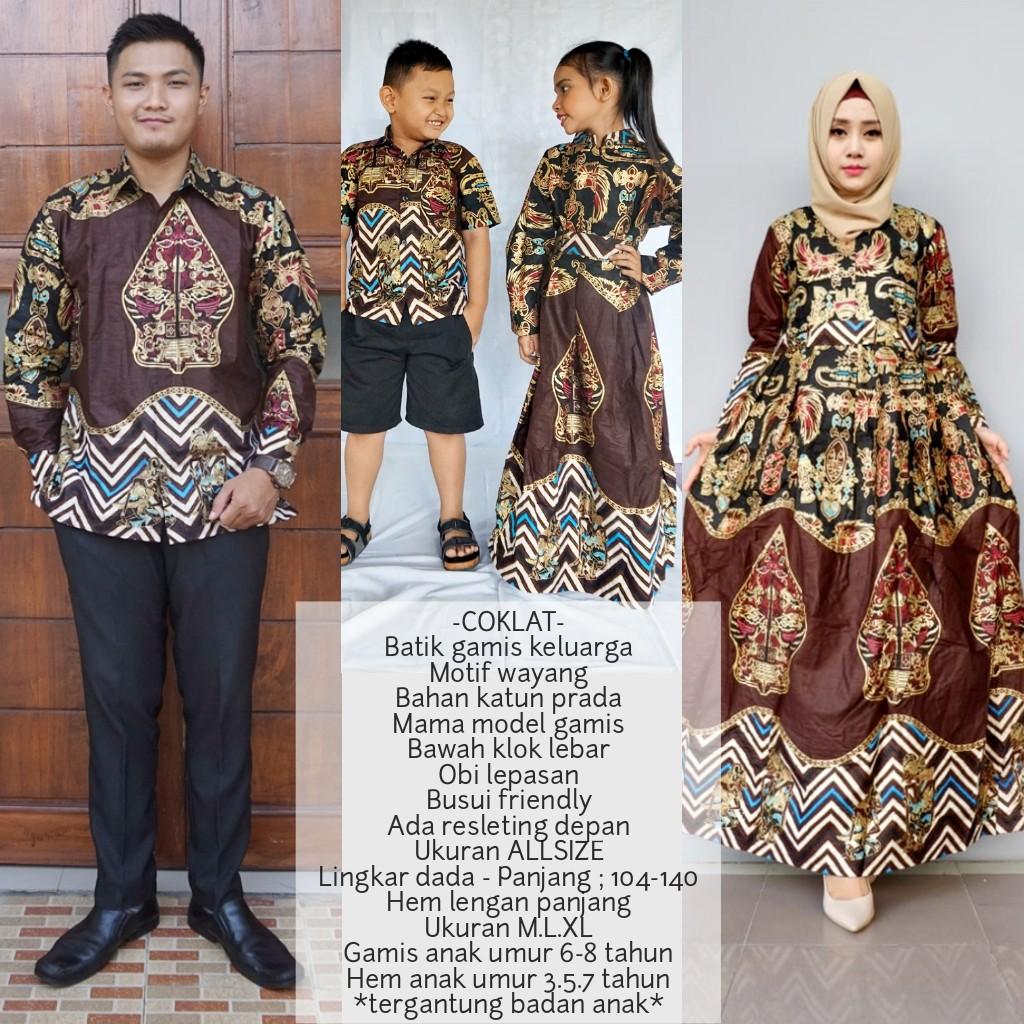 Baju Couple Batik Modern   Baju Copel Family CDX Cp Ananda Hitam Murah  6be0beebcc
