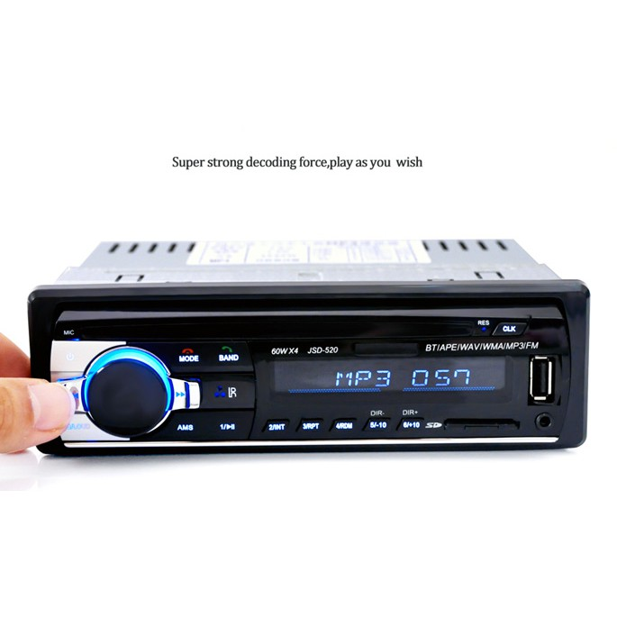 Free Ongkir Extream Bass Tape Mobil Bluetooth Caller Usb Mp3 Fm Radio Shopee Indonesia