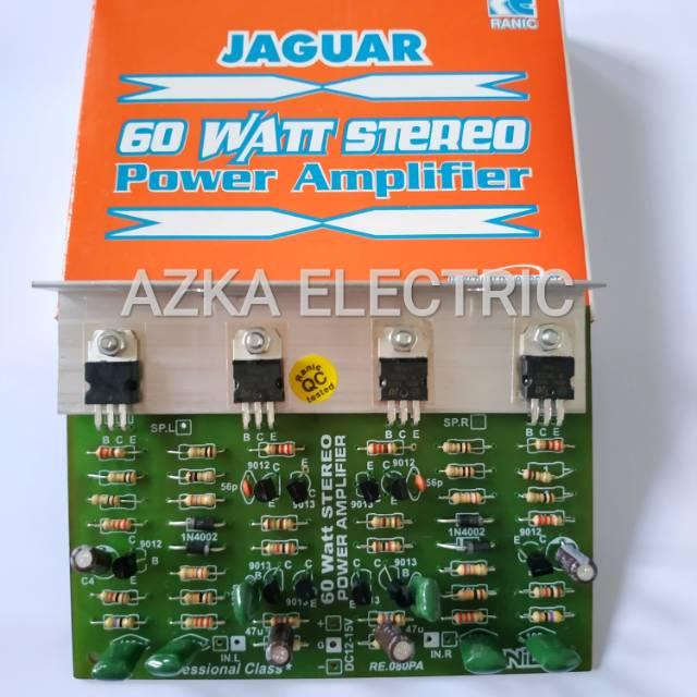 Kit Power Amplifier Stereo 60W