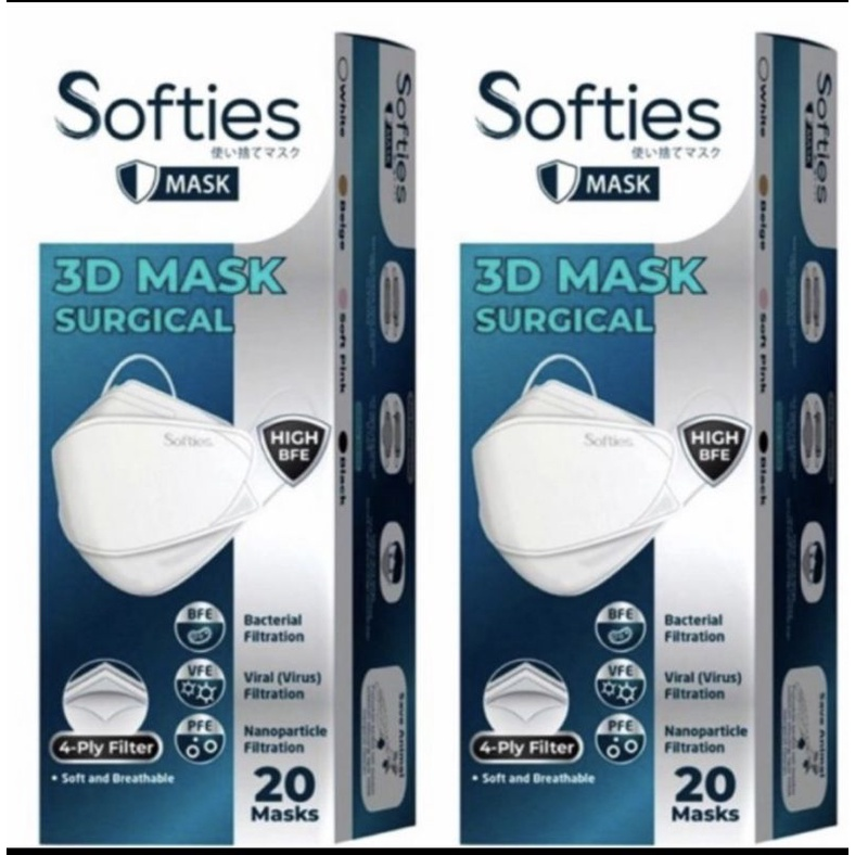 Masker Softies 3D Surgical