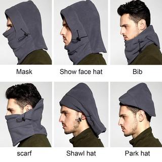 ... buff Masker Balaclava Bandana Kupluk Topi Helm Polar 6 in 1 Full Face. suka: 82