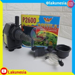 Mesin Pompa Air Aquarium Aquila P 2600 Power Head ...