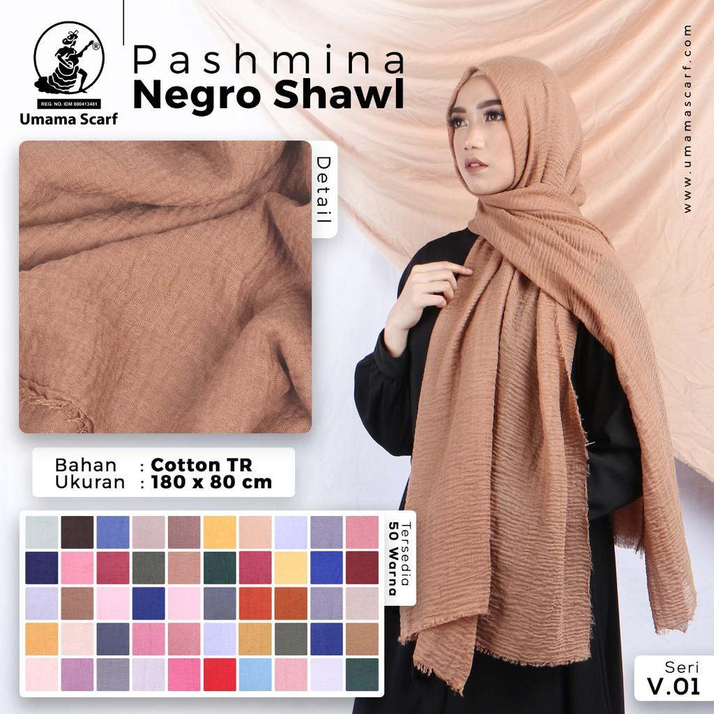 Grosir 10 Pcs Hijab Pashmina Negro Shawl Motif Bahan Cotton Tr By Umama Shopee Indonesia