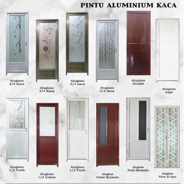 Pintu Kamar Mandi Dan Kamar Tidur Alumunium Shopee Indonesia