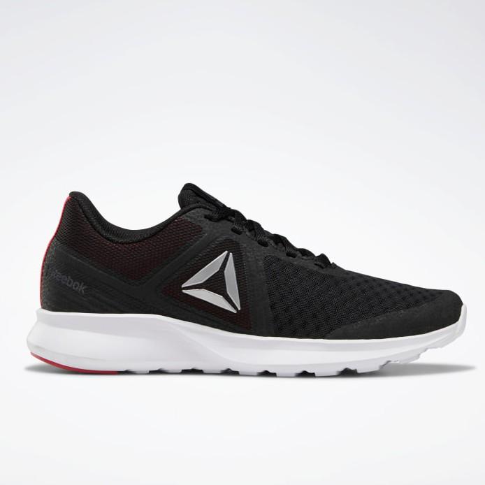 Reebok Men/'s Running Shoe With Memory Tech Black//Red//White