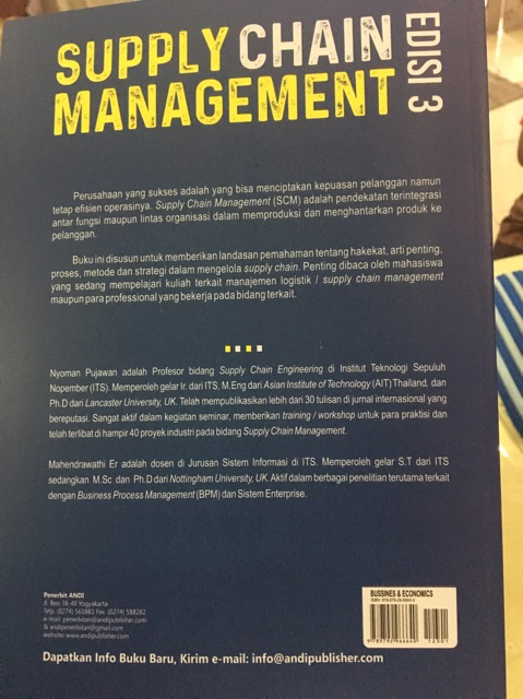 Jurnal Internasional Supply Chain Management / European ...