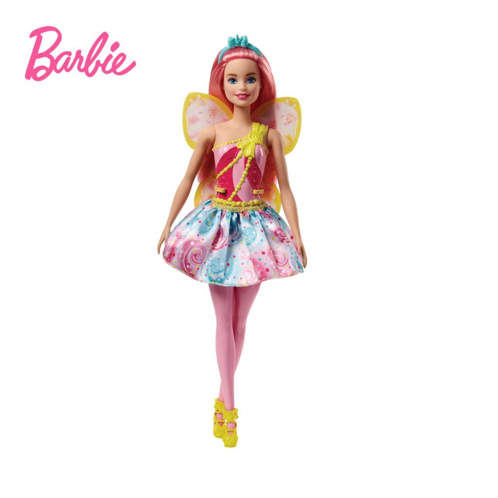 Barbie Dreamtopia Fairy Doll (Sweetville) Mainan Boneka Anak Perempuan af1d90935e