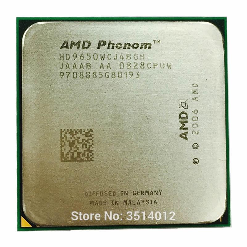 No CPU AMD Phenom X4 9650 Heatsink Cooling Fan New in Original AMD Box
