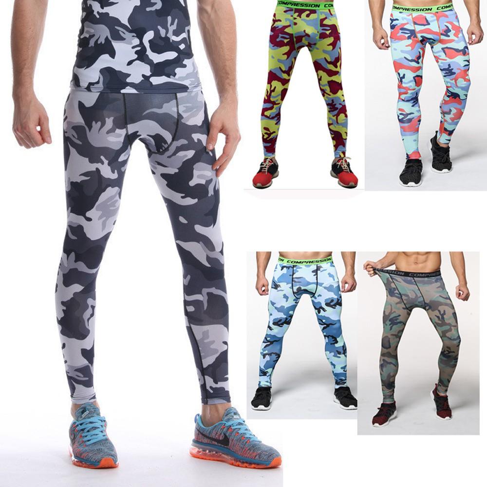 Celana Panjang Legging Compression Quick Dry Motif Camo Untuk Pria Fitness Gym Jogging Shopee Indonesia