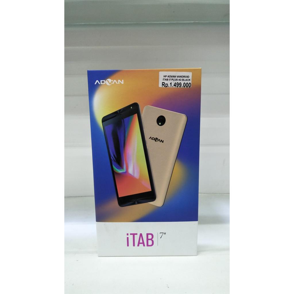 Advan Itab I7 Plus 4g Lte 7 Ram 2gb Rom 16gb Batt 3500 Tablet Inch New Mah Shopee Indonesia