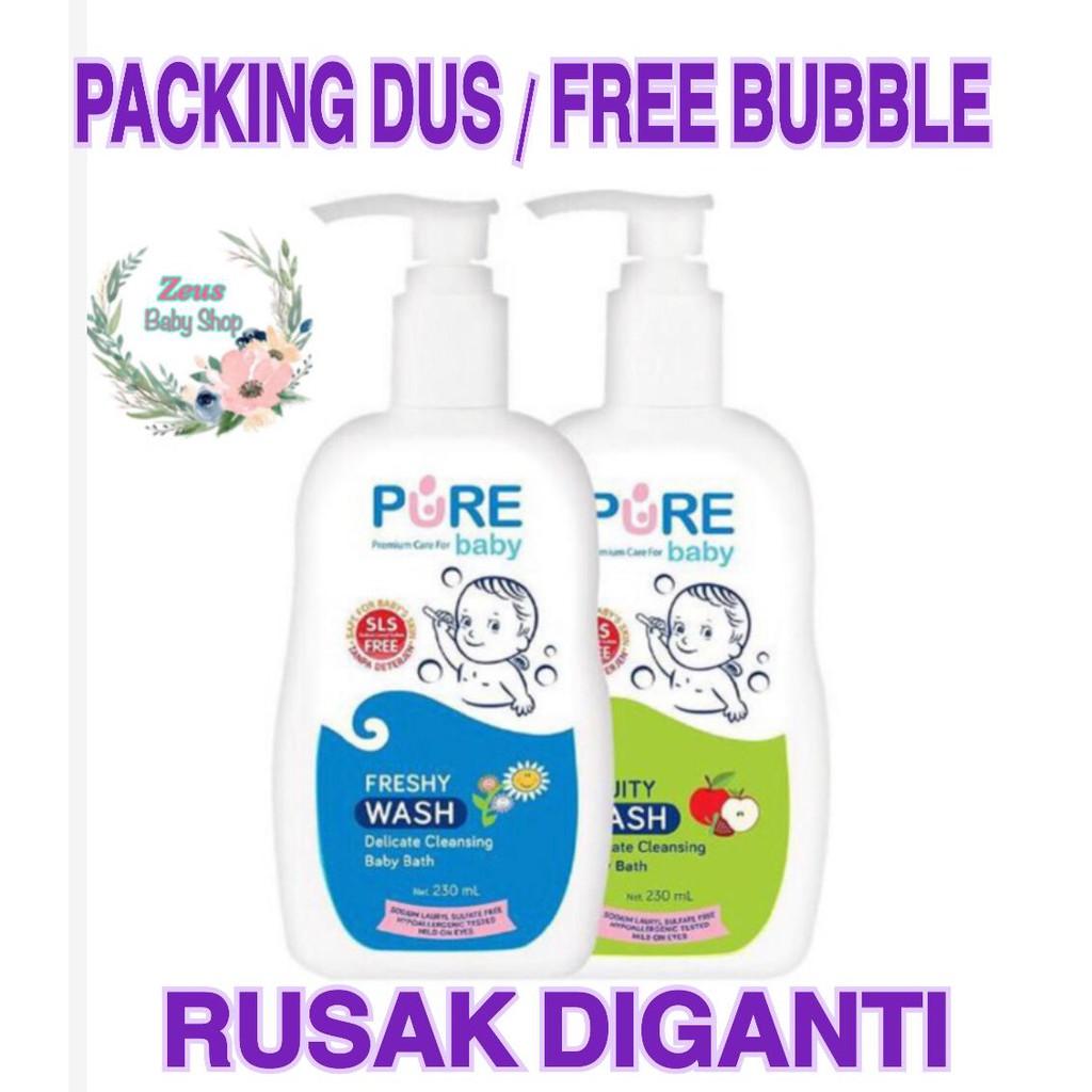 Pure Baby Wash 230ml Sabun Mandi Bayi Ex Pure Baby Wash 2 In 1   Freshy