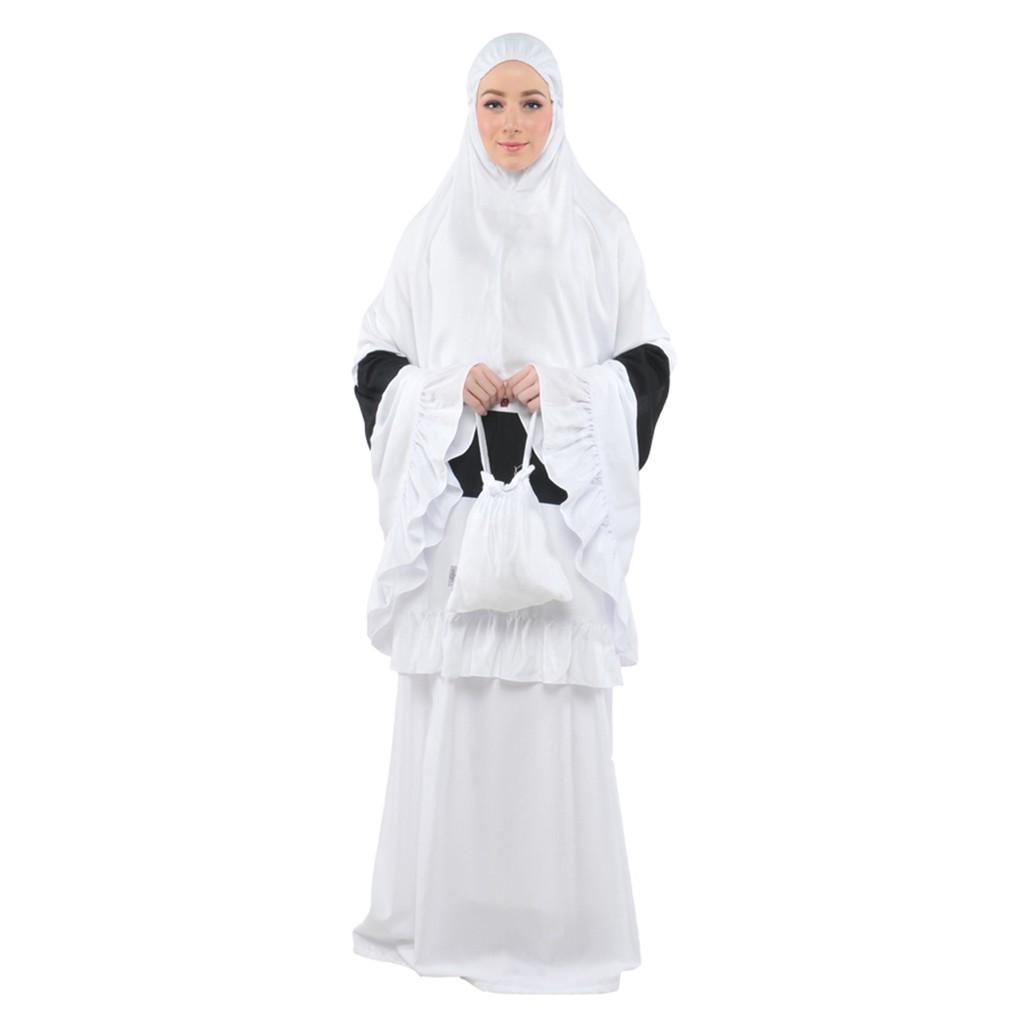 Mukena Tatuis Tiara 295 White Dewasa Shopee Indonesia 312 Broken