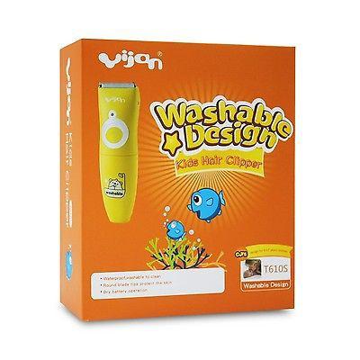 Yijan Kids Waterproof Hair Clipper HK 888S  986df7e27a