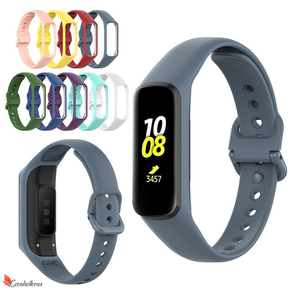 énorme réduction d77ef 7930c ✔ Watch Band for Samsung Galaxy Fit-e SM-R375 Bracelet Sport Soft Strap for  Samsung SM-R375 Loca