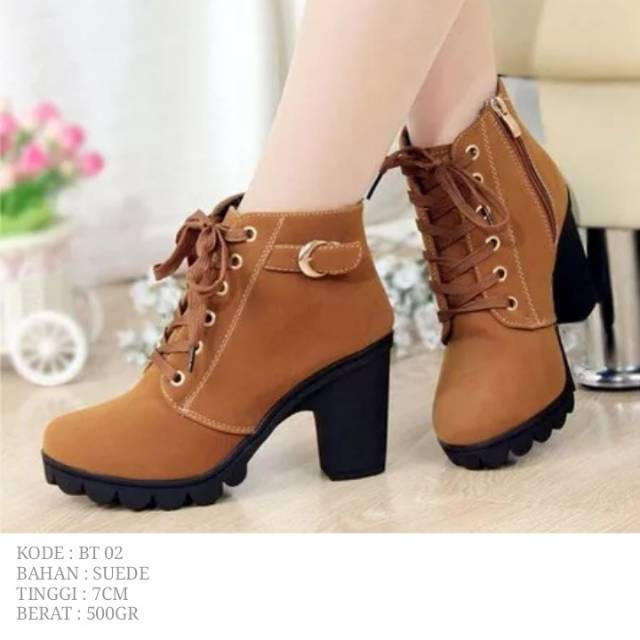 Boots Suede BT02