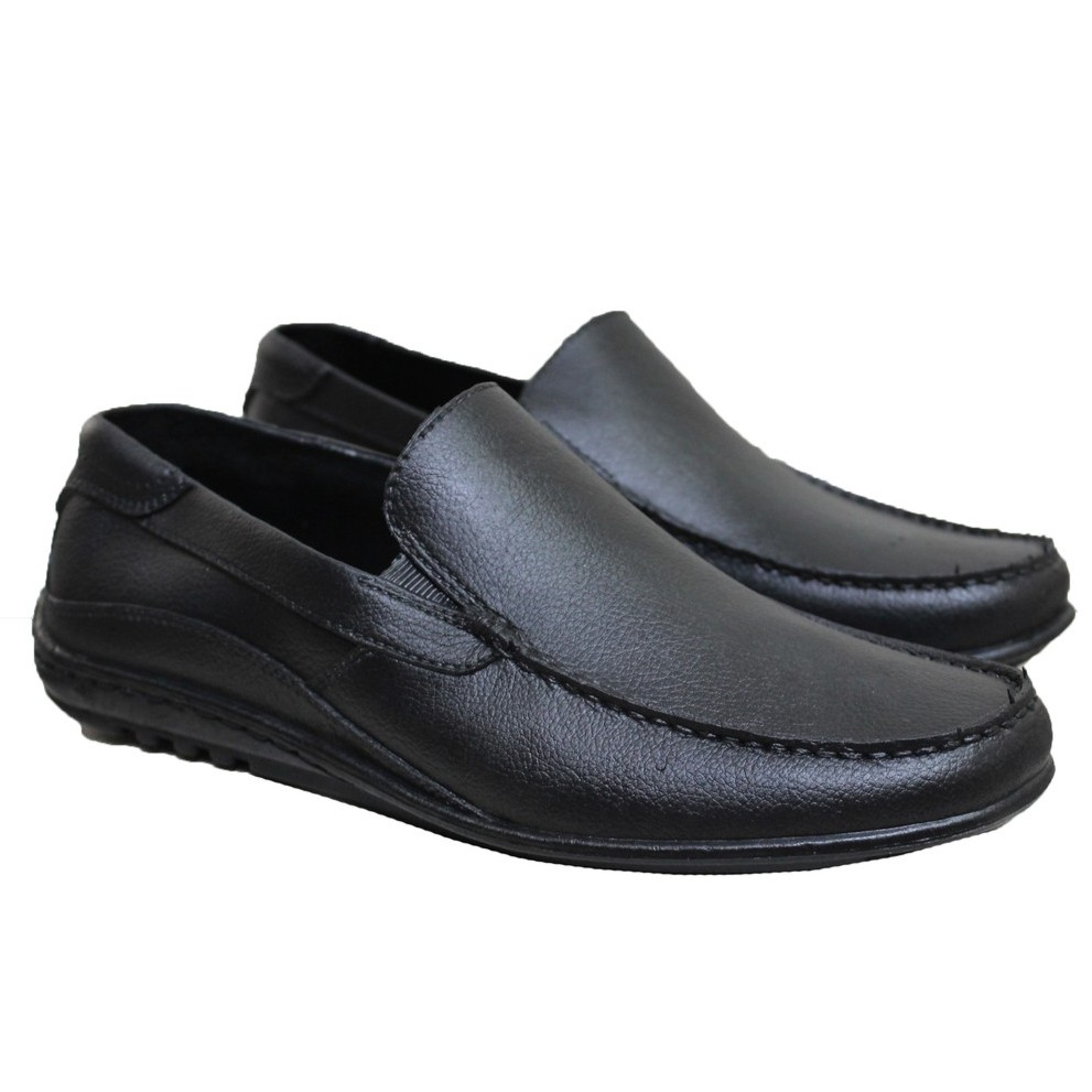 Sepatu Pantofel Pria Formal Kulit Asli Slip On Like Oxford Best Model Hand  Made Limited Stok 1018  6bebedeac8