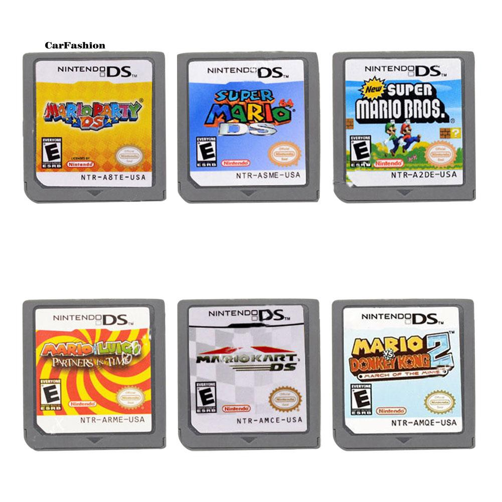 Casio Cartridge Game Mario Versi US untuk Nintendo DS NDS DSi 3DS