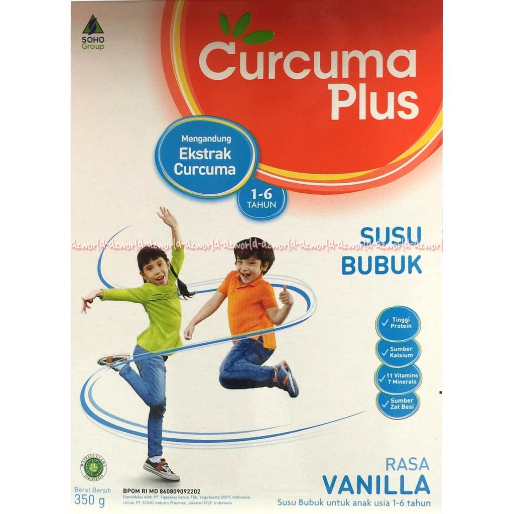Susu Curcuma Plus Susu Bubuk Rasa Vanilla 1 6tahun 350gr