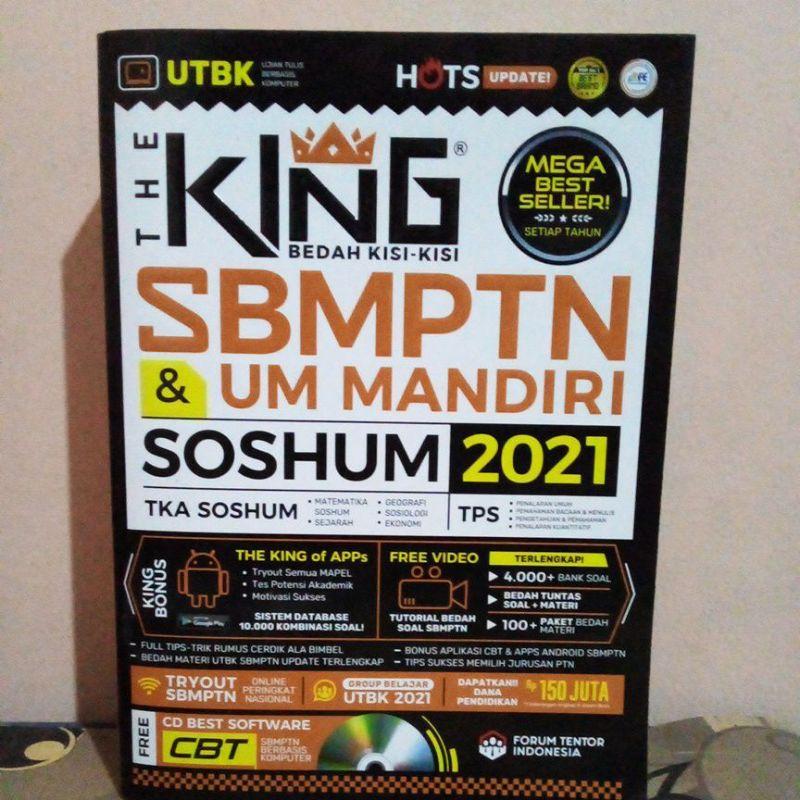 THE KING SBMPTN SOSHUM/TPS/DRILLING/MEGA BANK 2021 PRELOVED