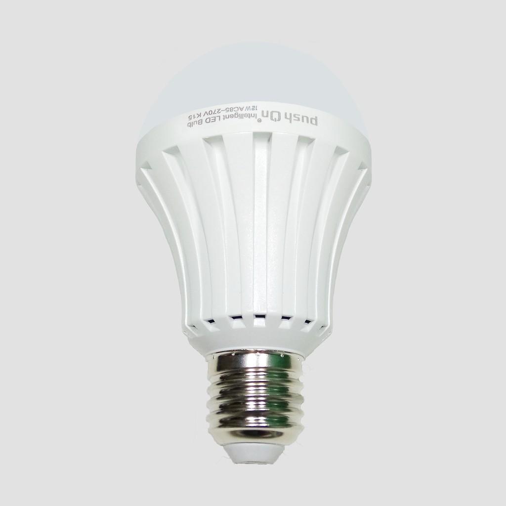 Lampu LED Emergency Bulb Push On Intelligent 12 Watt ...