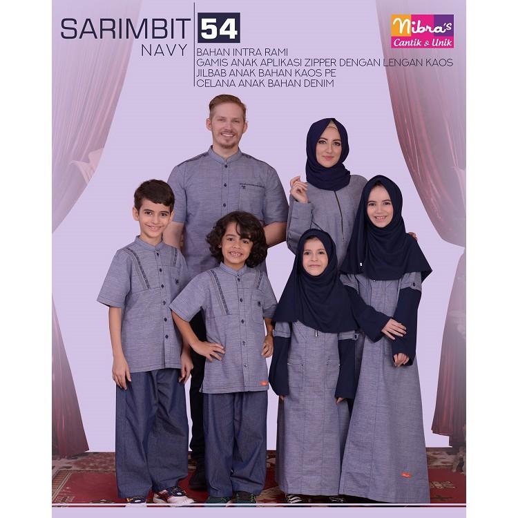 D02 | Sarimbit muslim couple keluarga seragam baju terbaru koko gamis Ayah ibu anak branded murah | Shopee Indonesia
