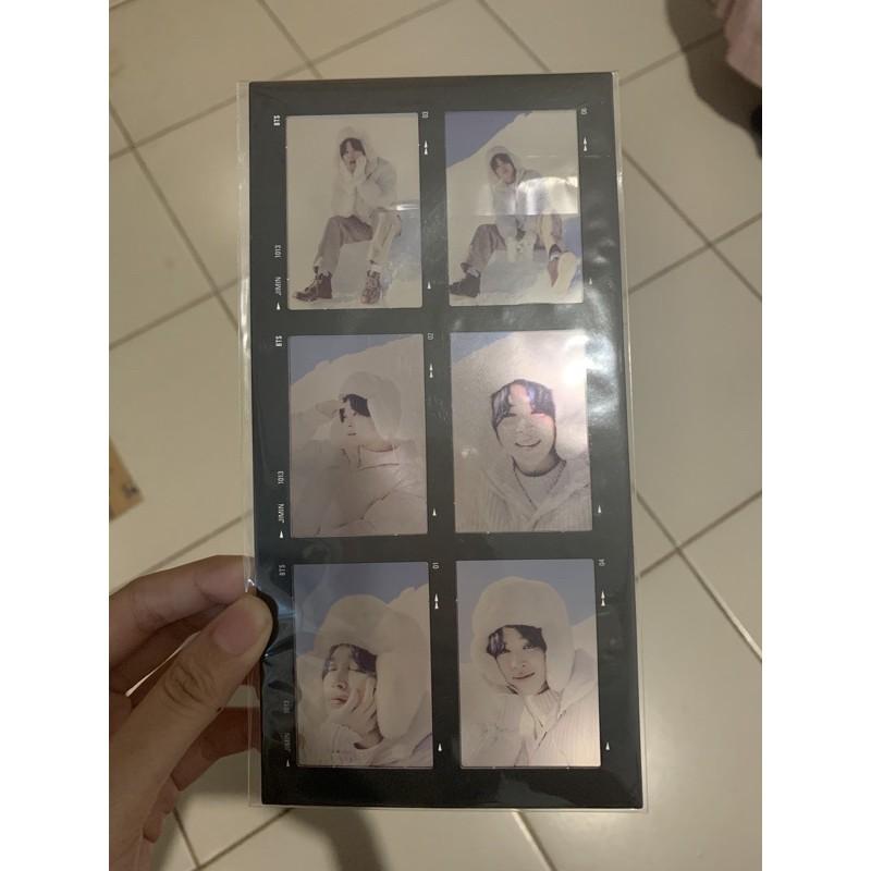 6 Cut Film Jimin Winter Package BTS DVD Photocard PC Album