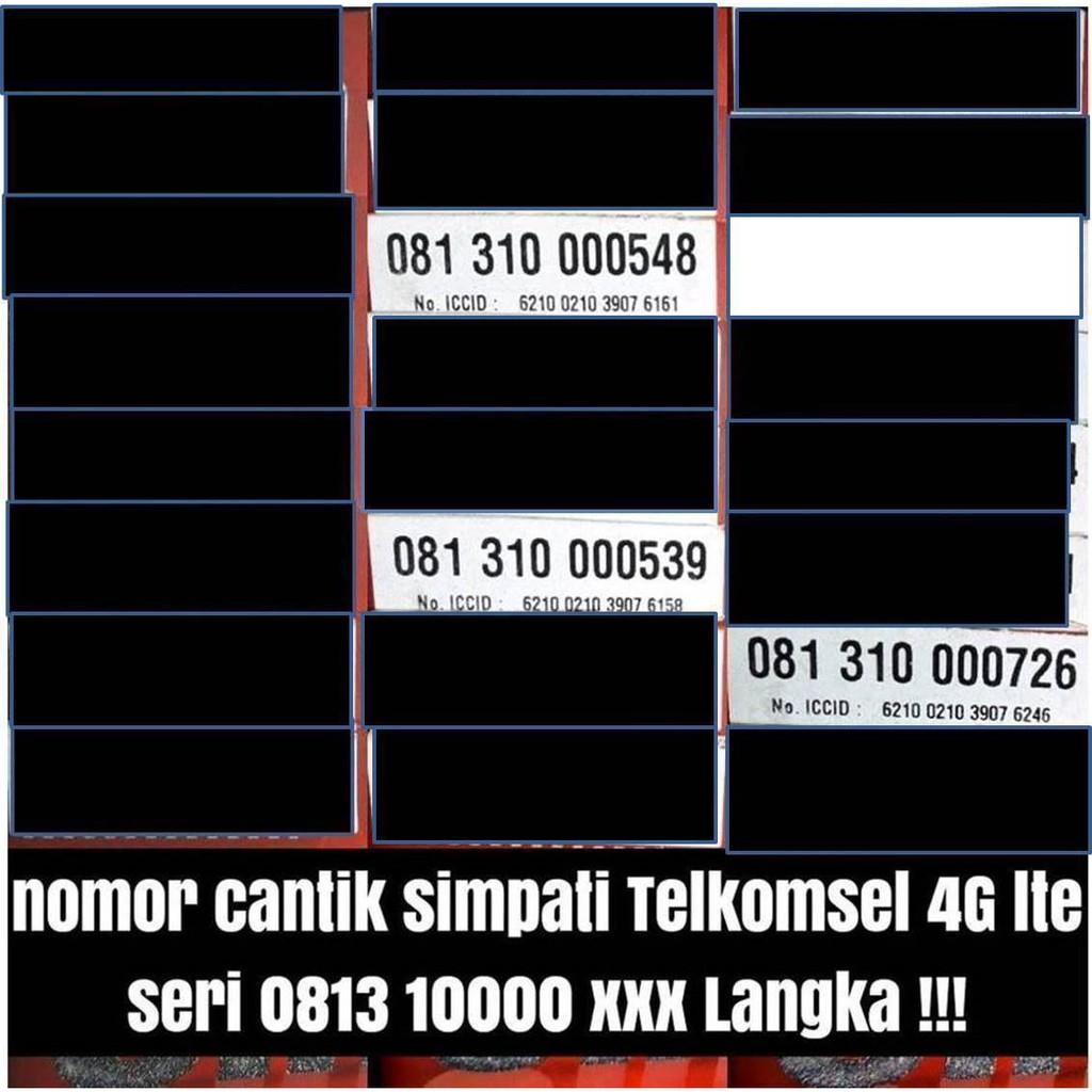Nomor Cantik Indosat 10 digit Kartu Perdana 4G LTE Ooredoo | Shopee Indonesia