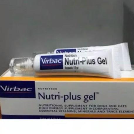 Vitamin Kucing Dan Anjing Nutri Plus Gel Virbac 15gr Repack Tanpa Dus Shopee Indonesia