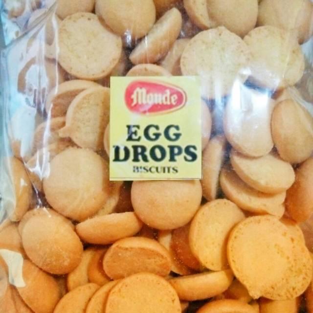 Monde Egg Drops Biscuit 110G .