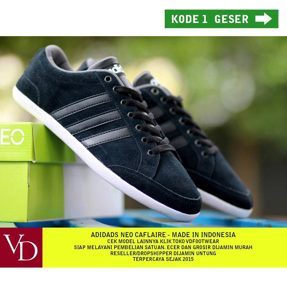 ... czech vdfootwear adidas neo caflaire original komponen sepatu pria  sneakers kasual shopee indonesia 6a6dc b47d1 a24accfdba