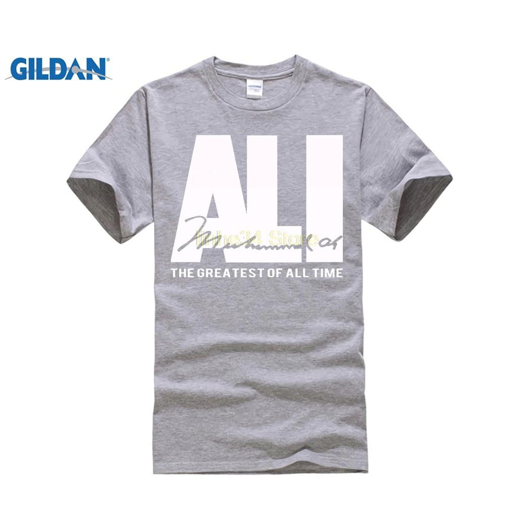 Kaos T Shirt Katun Lengan Pendek Pria Motif Print Gambar Ciuman Arc Hem Mushad Ali Ficial Warna Abu Abu